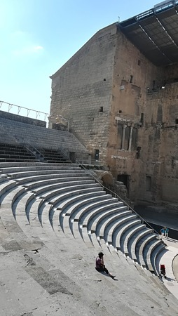 Roman Theater - Orange - France Tourism in Ancient Greece and Rome