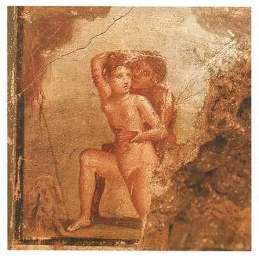 Centennial House - Ménade and Satyr-Traveling to a Different Pompeii