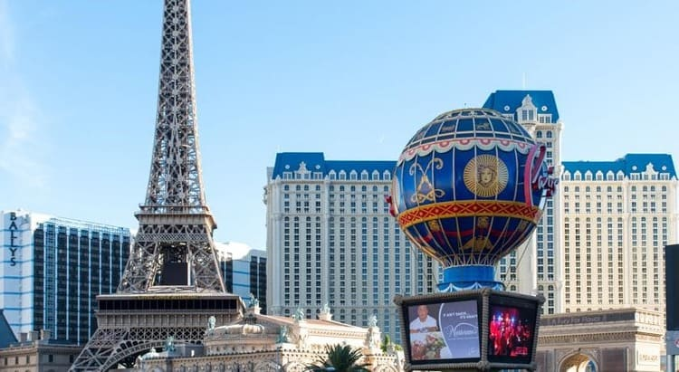 Hotel Paris Eiffel Tower -Las Vegas: Traveling Europe Without Leaving the United States