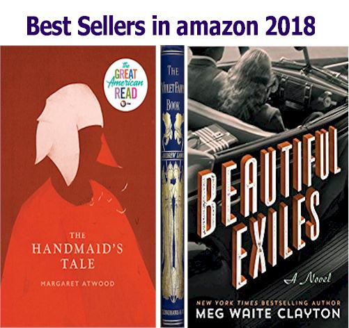 bestsellers amazon 2018