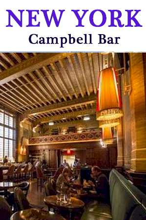 Campbell Bar - New York - Traveling-cook