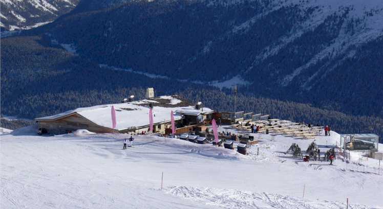 Snow -Meadows, Snow and Mountains in Saint Moritz