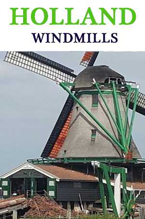 Holland Windmills - Saanze Schans