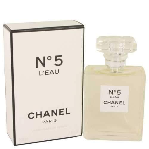 Chánel No. 5 L'eau by Chánel - Perfumes and Fragrances for Traveling Women