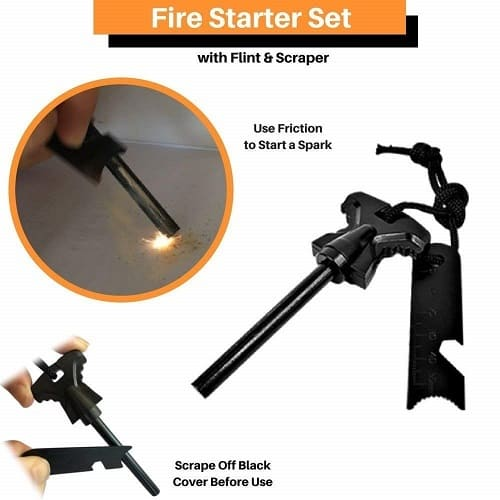 Outdoor Survival Gear 2019 - Fire Starter