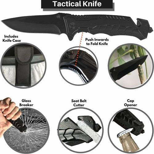 Outdoor Survival Gear 2019 - Tactical knife
