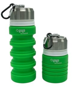 camping gear - Collapsible Water Bottle - Outdoor