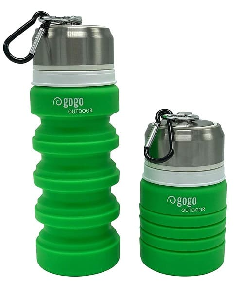 travel gadgets 2020 - Collapsible bottles - Travelingcook