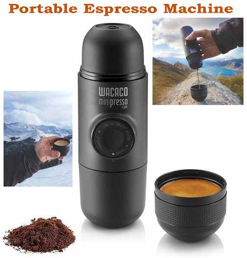 portable espresso machine - Travel Gadgets 2019