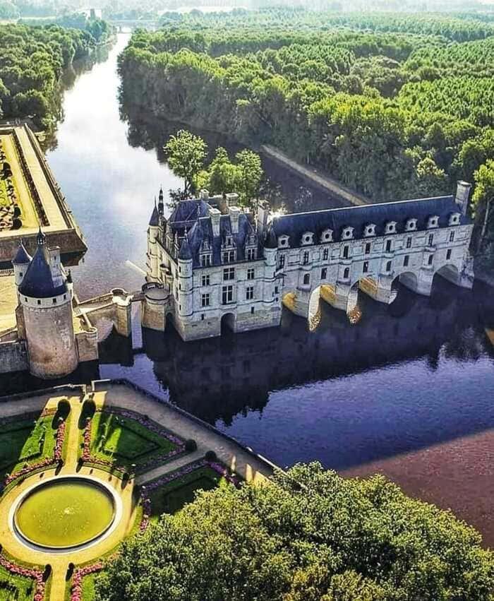 Castle of Chenonceau France