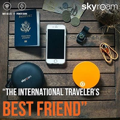 travel gadgets 2019- WiFi Hotspot & Power Bank Global SIM