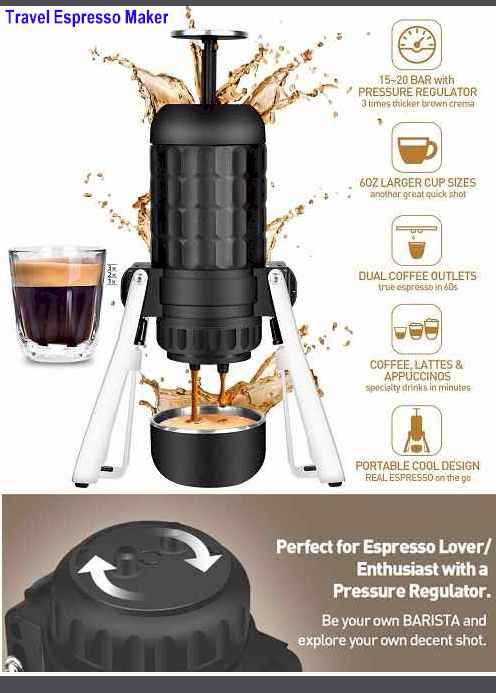 Cobessi Travel Espresso Makers 2019