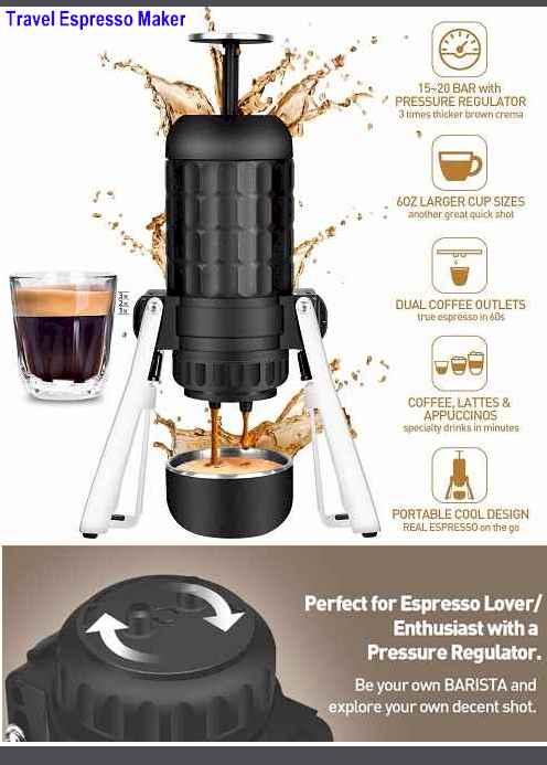 Cobessi Travel Espresso Machine 2021