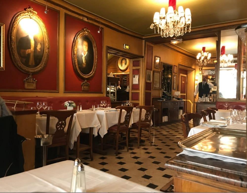 Main Saloon Café Procope: Oldest Coffee Shop in Paris