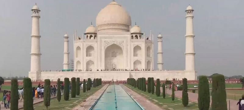New Rules for Visiting Taj Mahal