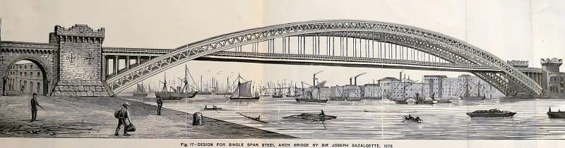 tower bridge - London 125th opening - Original Design - Sir Joseph Bazalgette