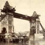 Tower Bridge in London. Anniversary of its opening
