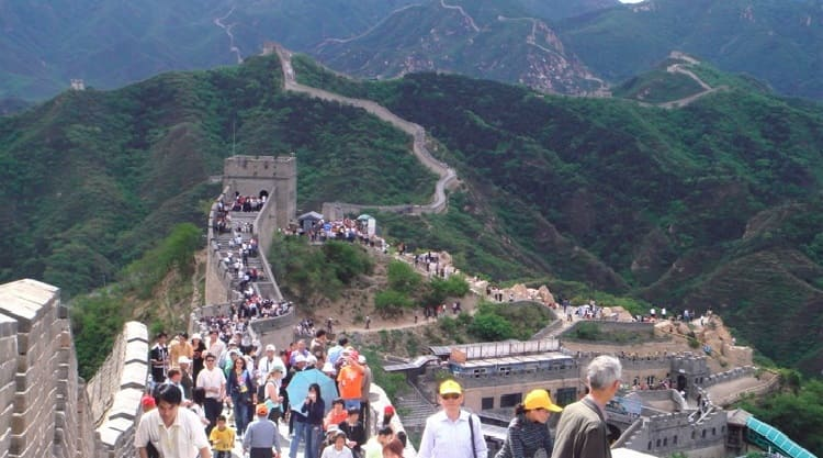 Over-Tourism in the Chinese Wall