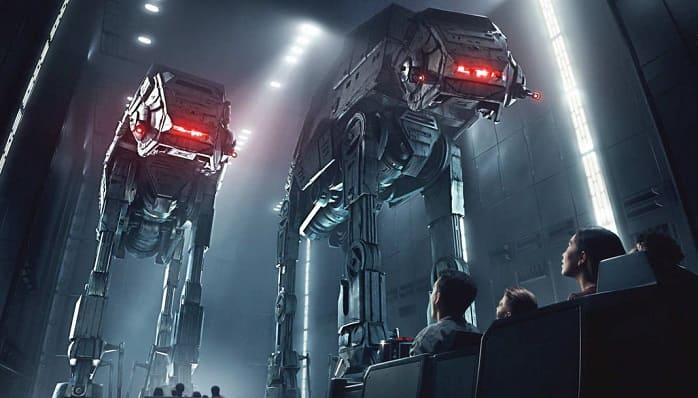 Disneyland: New Star Wars Attraction