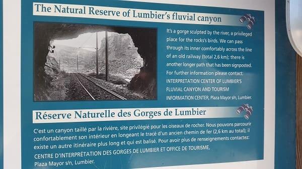 Natural Reserve Foz de Lumbier's fluvial canyon