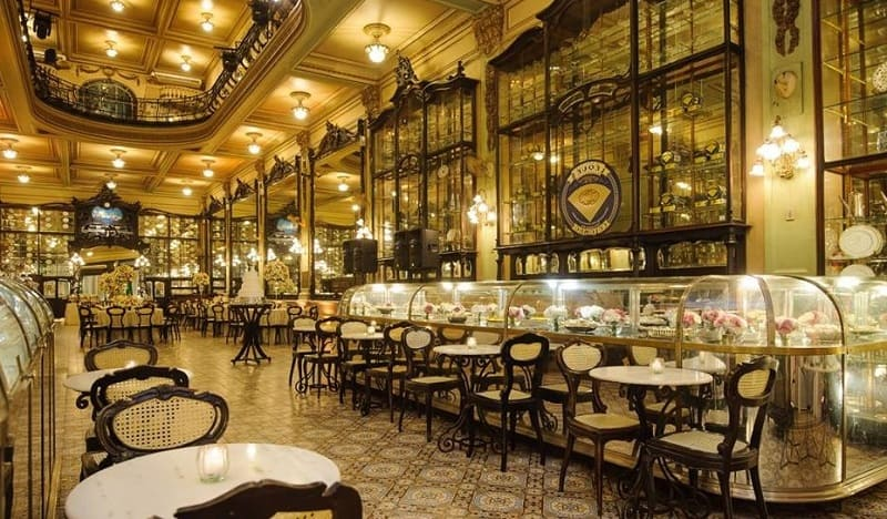 Cafe Colombo - Rio de Janeiro - Brazil * Oldest Coffee Shops