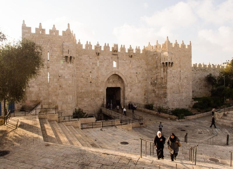 Jerusalem Walls - History of Tourism in Middle Ages