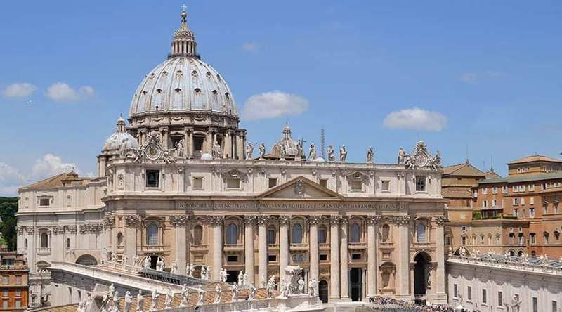 St Peter Rome Cathedral - history of Tourism in Middle Ages