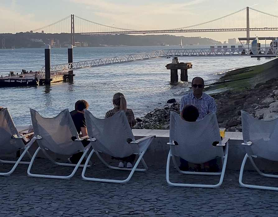 Tajo River - Enjoying Lisbon in 2020