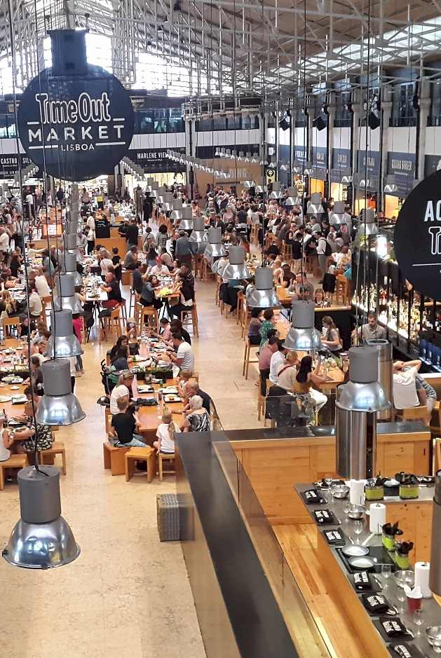 TimeOut Market Lisbon Portugal - enjoying lisbon in 2020