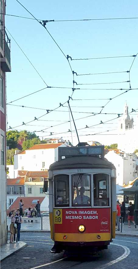 Lisbon Tram Car - enjoying lisbon in 2020