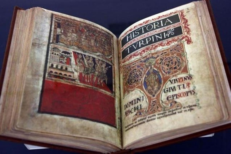 Religious Tourism in the Middle Ages - codex calistinus