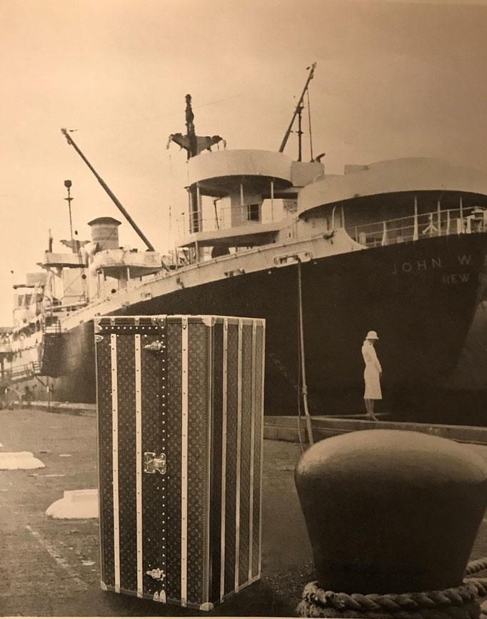 Louis Vuitton Vessel Trunk
