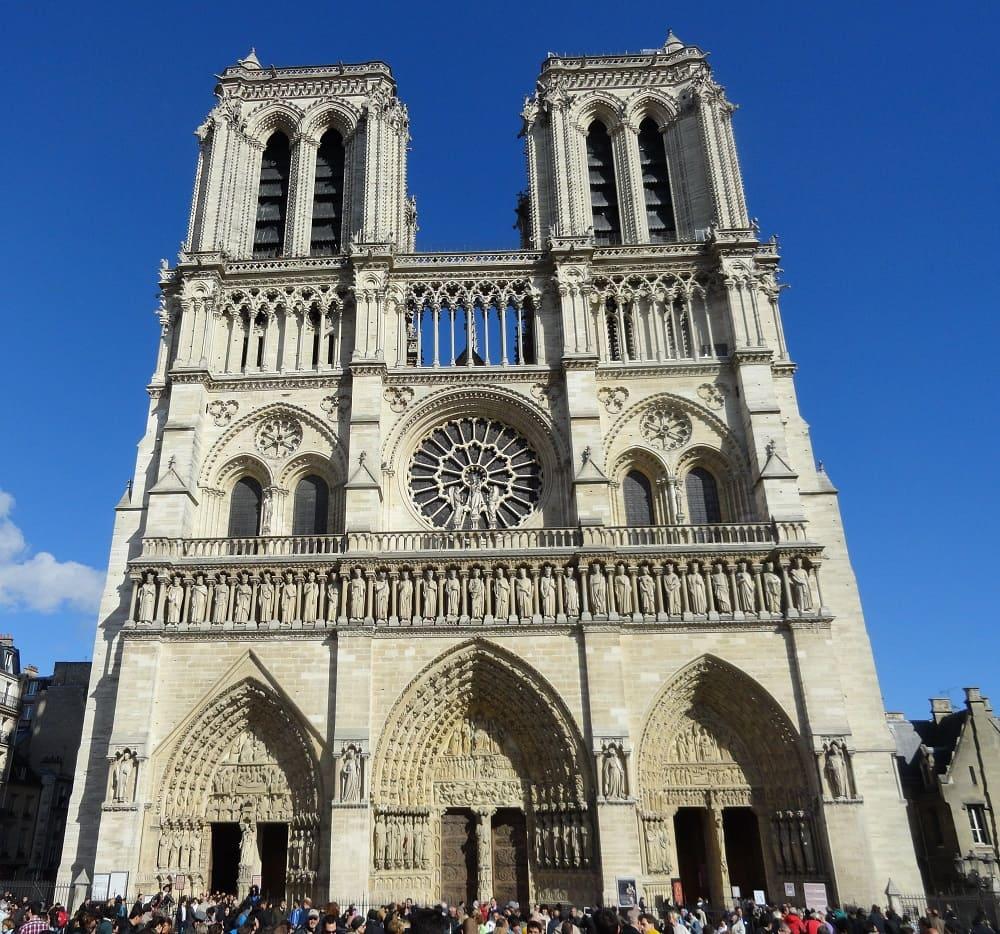 Paris France - NotreDame