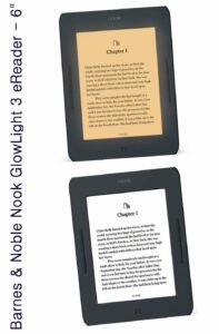eReaders 2019 -2020 Barnes & Noble NOOK GlowLight Plus eReader