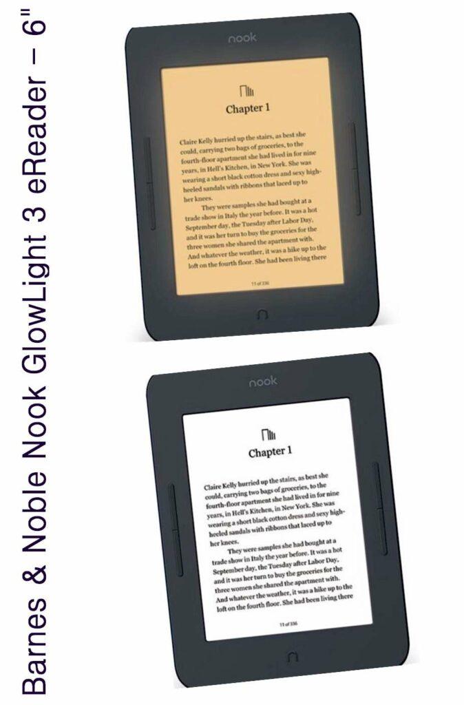 eReaders 2019 -2020 Barnes & Noble NOOK GlowLight Plus eReader