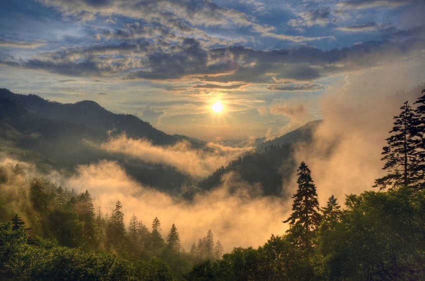 Views in Great Smoky Mountains National Park