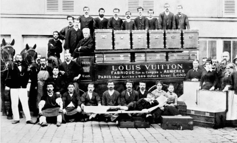 Louis Vuitton Frabrique Rue du Congres Poster Vintage