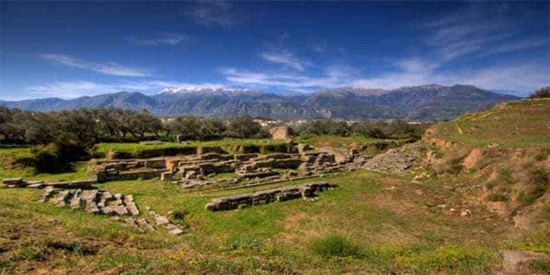 Amphitheater in Sparta Tourism in Ancient Greece and Rome
