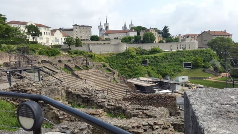 Amphitheaters & Odeon of Lyon (France) -- Tourism in Ancient Greece and Rome