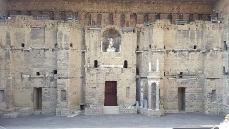 Roman Theater - Orange -- (France) Tourism in Ancient Greece and Rome