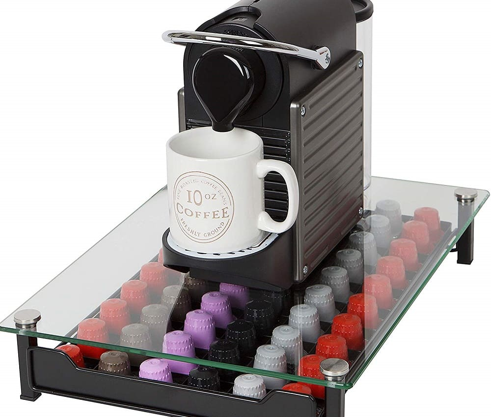 Travel nespresso Gadgets - Tempered Glass Nespresso Capsule Drawer
