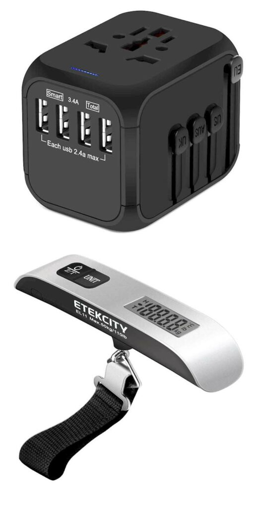Travel Adapter& Travel Scale gadgets 2020