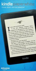 Kindle paperwhite IPX8 waterproof - Travel Gadgets 2020