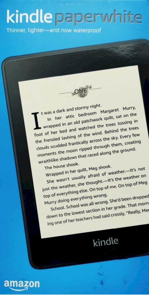 Kindle paperwhite IPX8 waterproof - Travel Gadgets