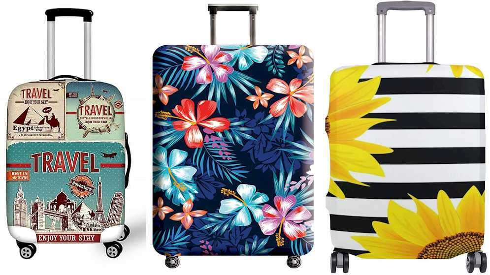 Luggage Cover - Suitcase - Travel Gadgets 2020