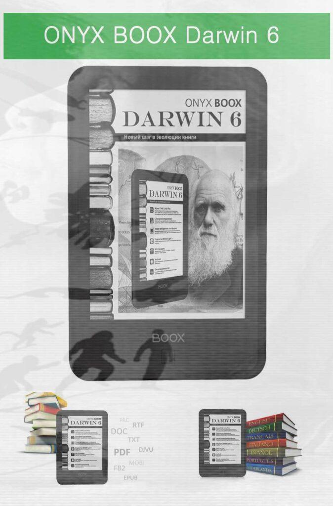 Onyx Boox Darwin 6 eReaders 2020 - 2021