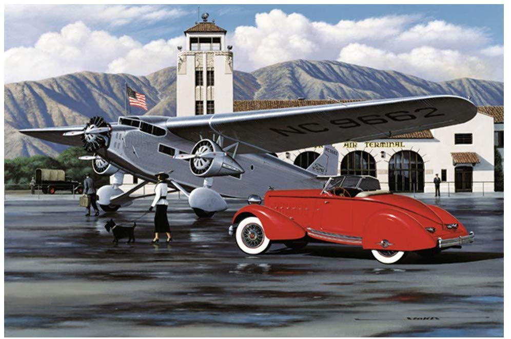 "STOKES COLLECTION 1934 American Classics / 16.5"" x 11"" . Ford Trimotor - Amazon.com Poster Vintage"