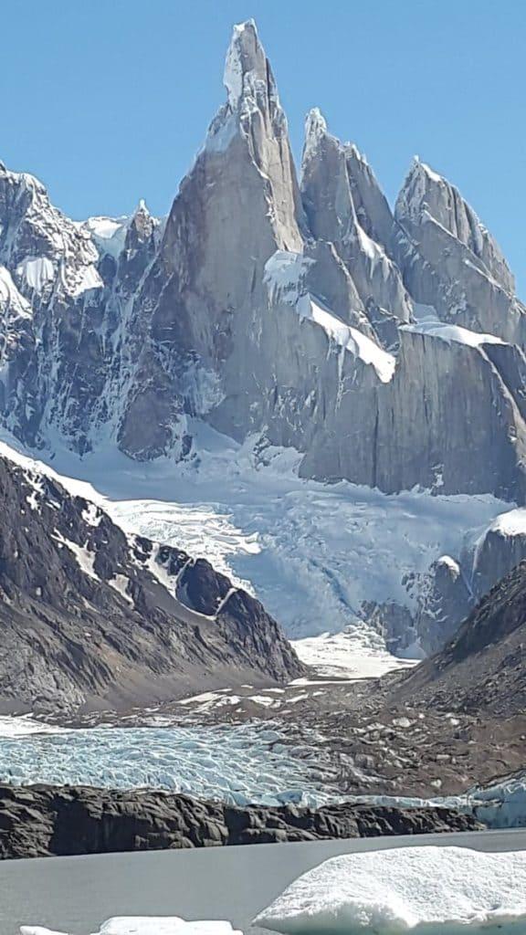 Glacier Laguna Torre Trail - Los Glaciares National Park