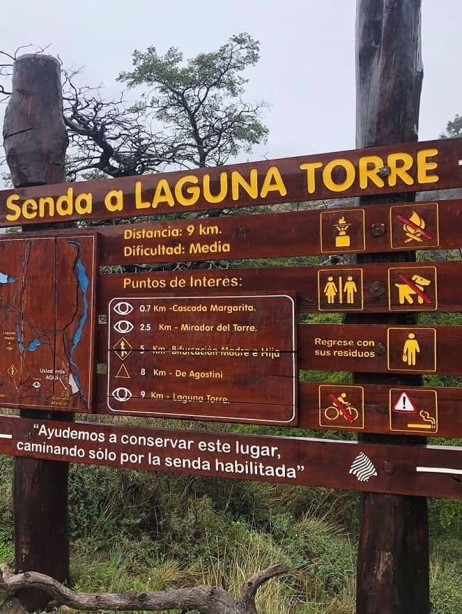 Senda a Laguna Torre - Parque Nacional Los Glaciares