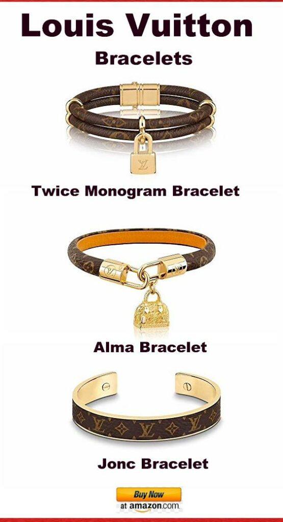 Louis Vuitton Bracelets - twice Monogram - alma - jonc - #Vuitton